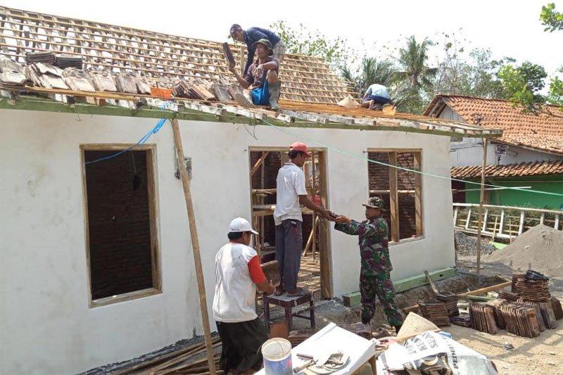 Tim Pendam IV Diponegoro tinjau perkembangan TMMD Kodim Cilacap