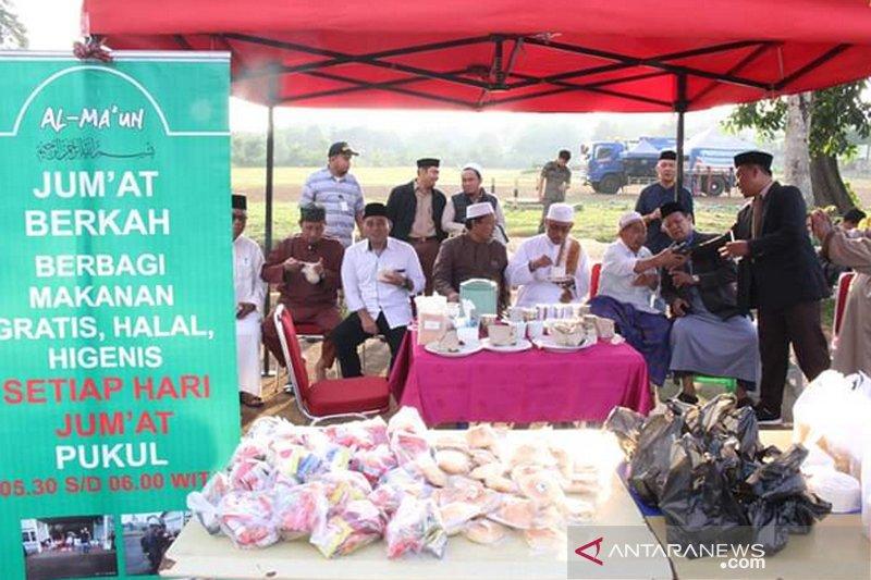 Bupati Lutim apresiasi komunitas berbagi Al Ma'un Sorowako