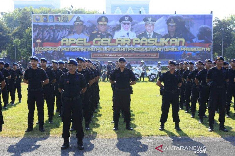 Polda siapkan 1.700 personel amankan Jatim saat pelantikan presiden