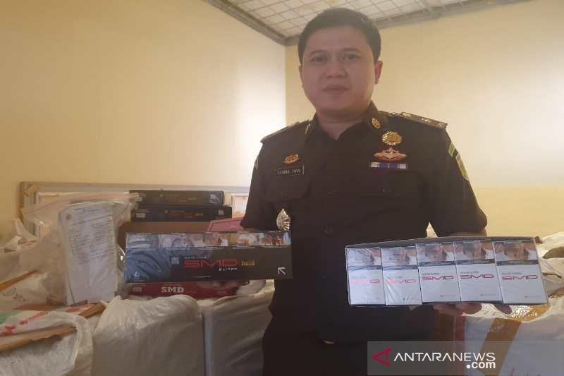 Kejari Temanggung terima pelimpahan kasus rokok ilegal