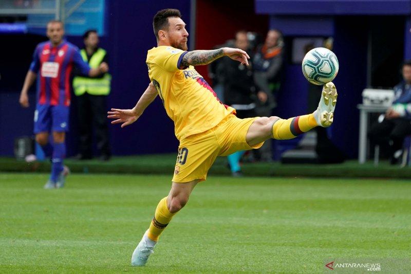 Trio MSG bawa Barcelona permalukan Eibar 3-0