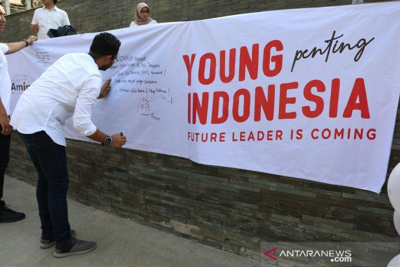 Kaum milenial siap sampaikan harapan untuk Jokowi- Ma'ruf Amin