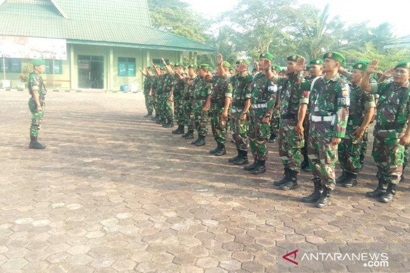 Kodim 0314/Inhil siapkan satu SSK pasukan aman pelantikan Presiden RI