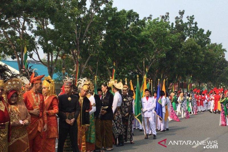 Karnaval budaya sambut Hari Sumpah Pemuda di Pekanbaru