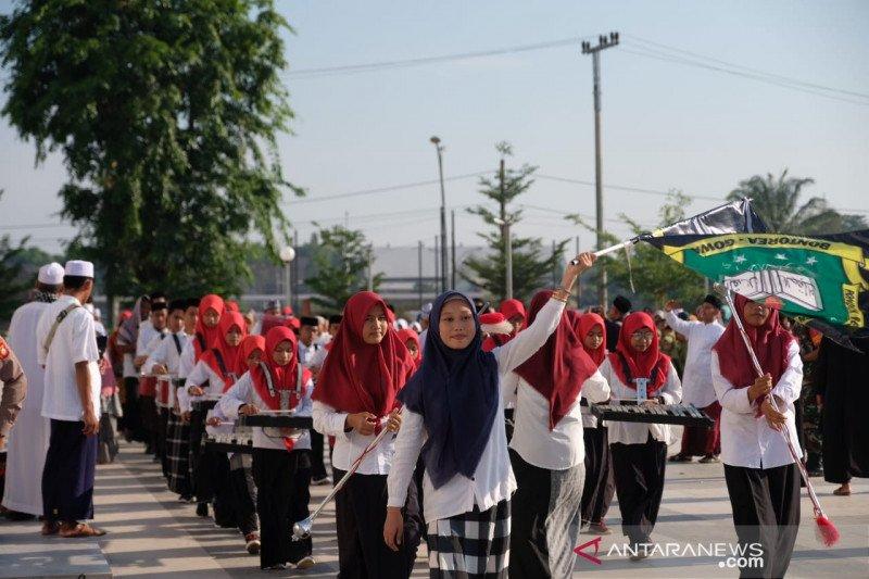 Pemkab Gowa gelar karnaval peringati Hari Santri Nasional 2019