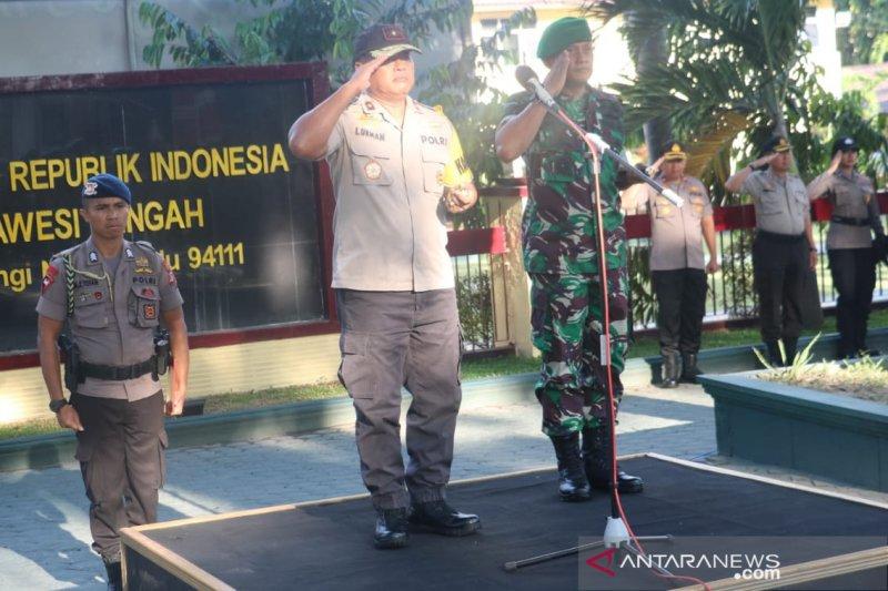 Kapolda - Danrem pimpin apel gelar pasukan pengaman pelantikan Presiden