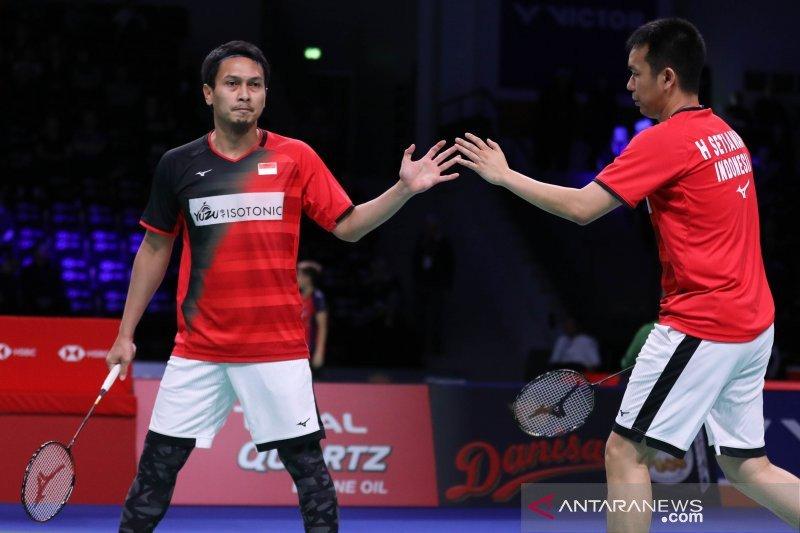 Hong Kong Open, Hendra/Ahsan melesat ke semi final