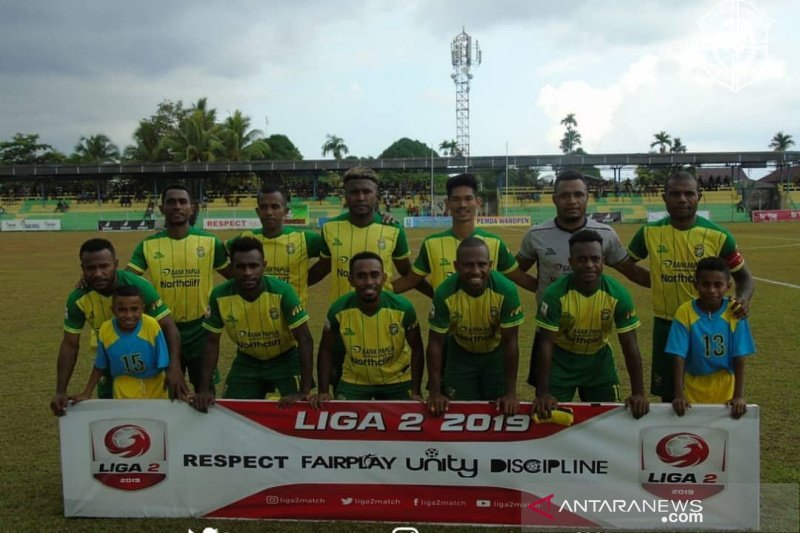Liga 2 -- Persewar Waropen incar juara wilayah timur