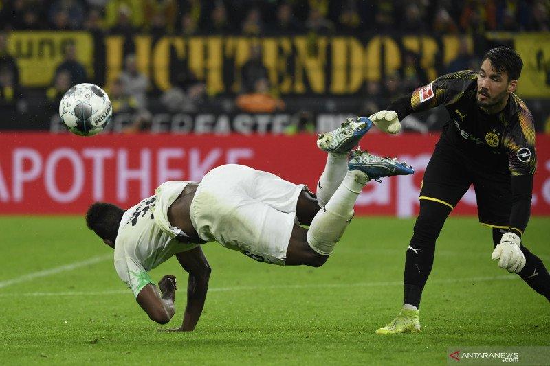 Hasil dan klasemen Liga Jerman: Meski kalah Gladbach masih di puncak