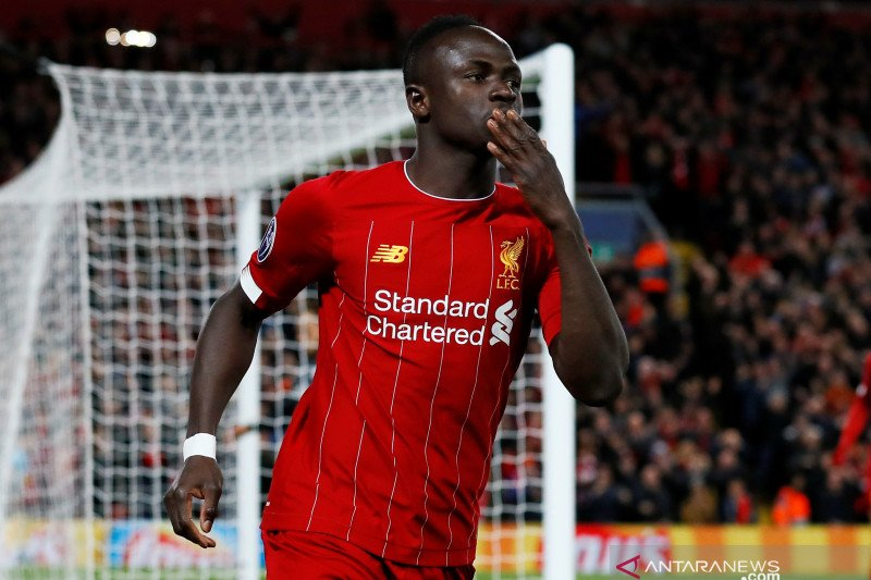 Sadio Mane senang dapat voting dari  Messi di FIFA The Best