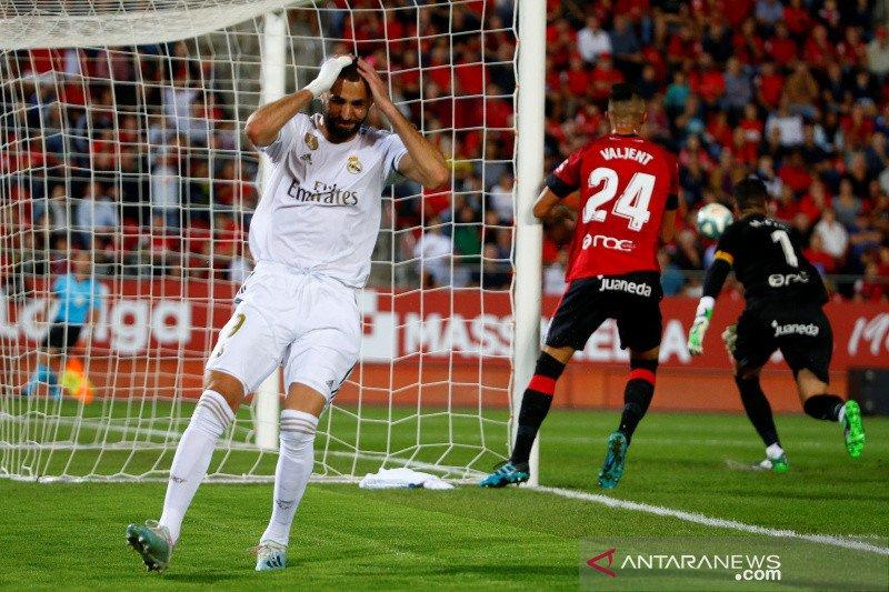 Real Madrid gagal kembali ke puncak usai dikalahkan Mallorca