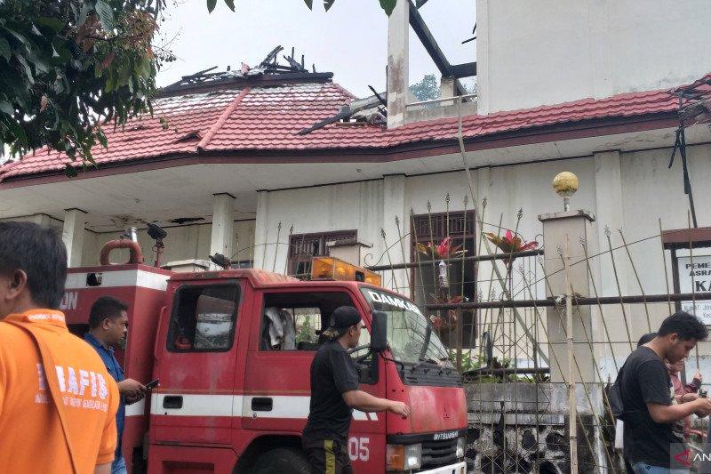 Asrama putra mahasiswa Papua di Tomohon-Sulut terbakar