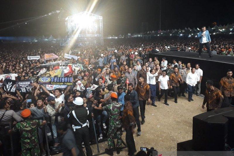 Jokowi nonton Konser Musik untuk Republik meriahkan pelantikan Presiden