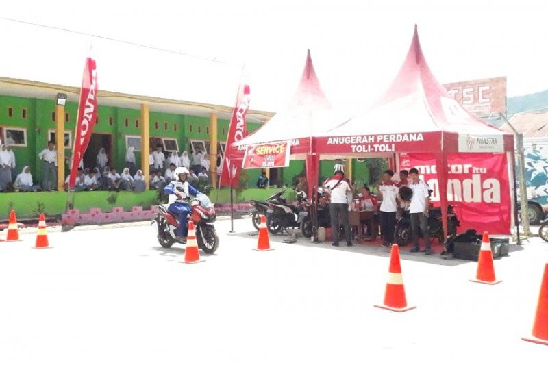 Honda edukasikan 'safety riding' di Toli-Toli