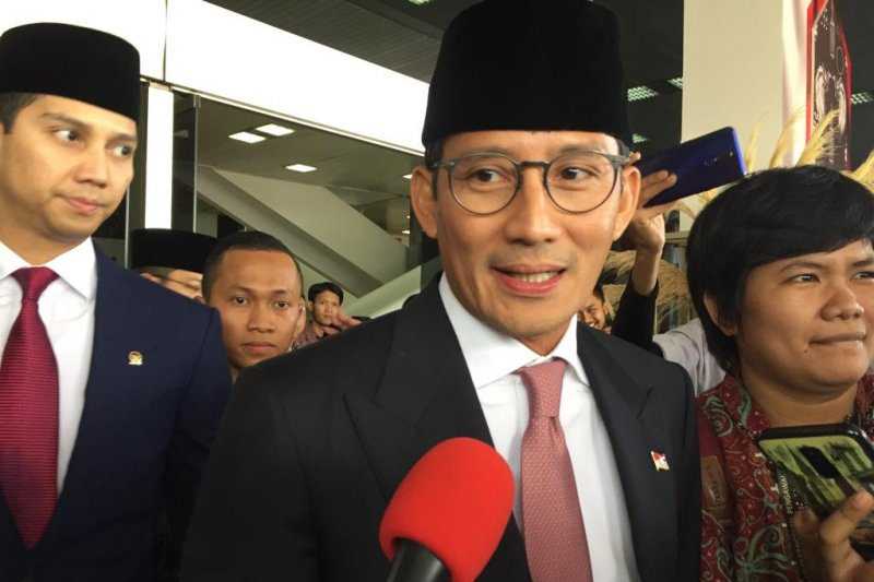 Sandiaga Uno harapkan Jokowi-Ma'ruf amanah