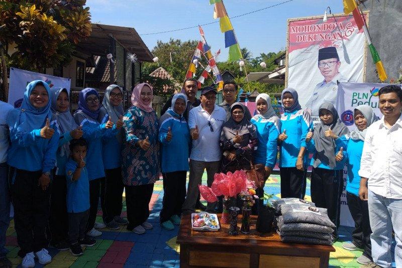 Dorong Kemandirian Pangan, PLN UIW NTB Dukung Pembangunan Kawasan Rumah Pangan Lestari