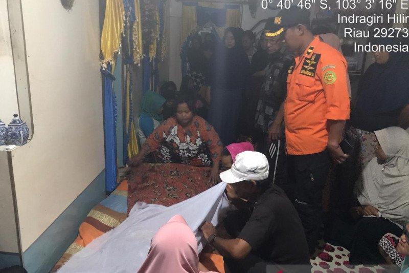 Tim SAR Indragiri Hilir temukan korban tenggelam tak bernyawa