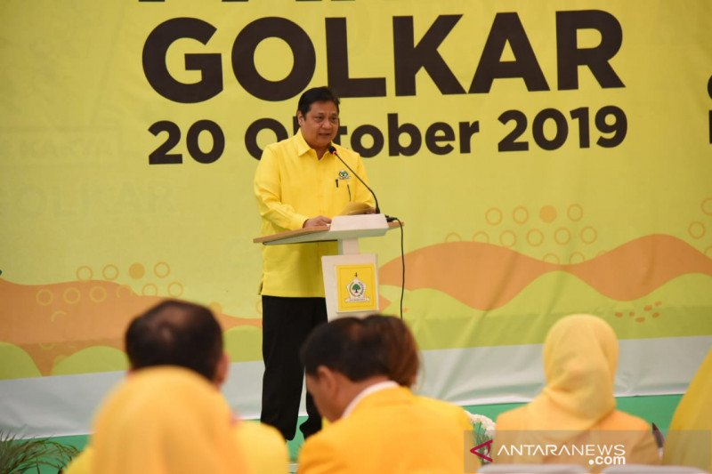Golkar 'melempem' di era kepemimpinan Airlangga Hartarto