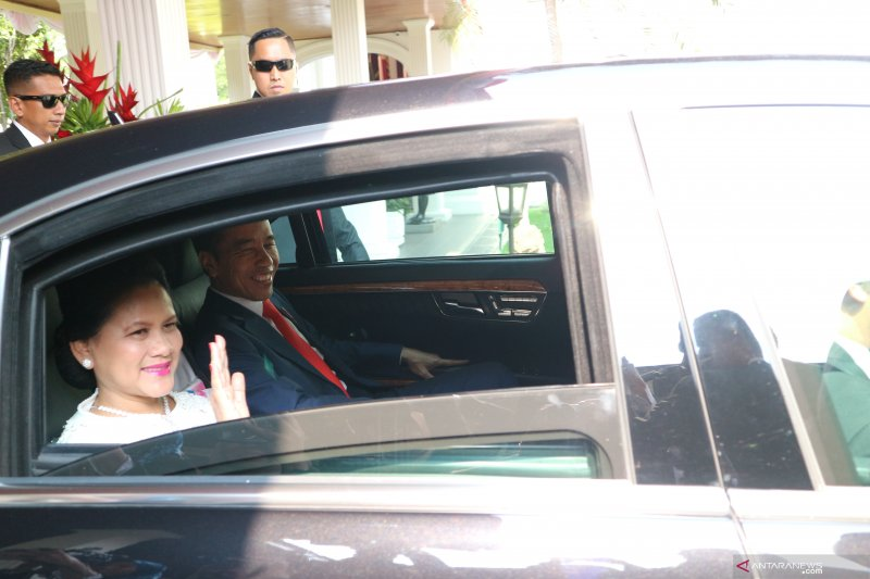 Presiden merasa biasa meski tanpa arak-arakan usai pelantikan