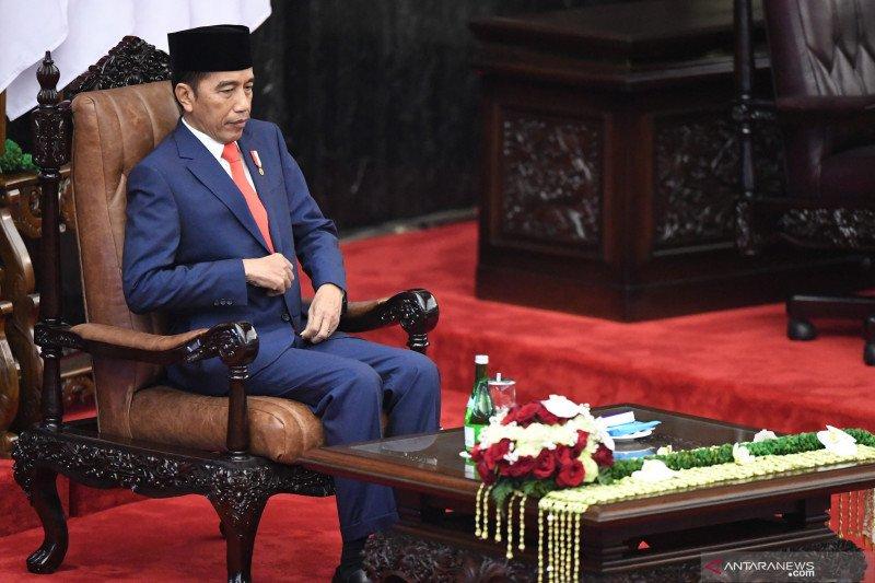 Joko Widodo dan Ma'ruf resmi dilantik sebagai Presiden dan Wapres RI