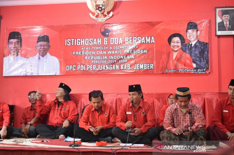 PDIP Jember gelar doa bersama untuk Jokowi-Ma'ruf Amin