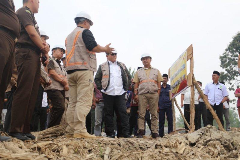 Musi Banyuasin targetkan  jembatan Muara Medak selesai Desember 2019