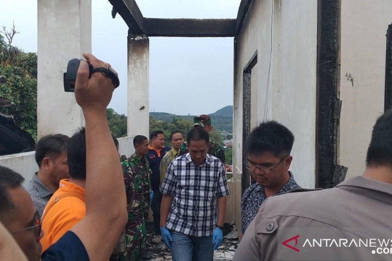 Polres datangkan personel labfor selidiki kebakaran asrama Papua di Tomohon