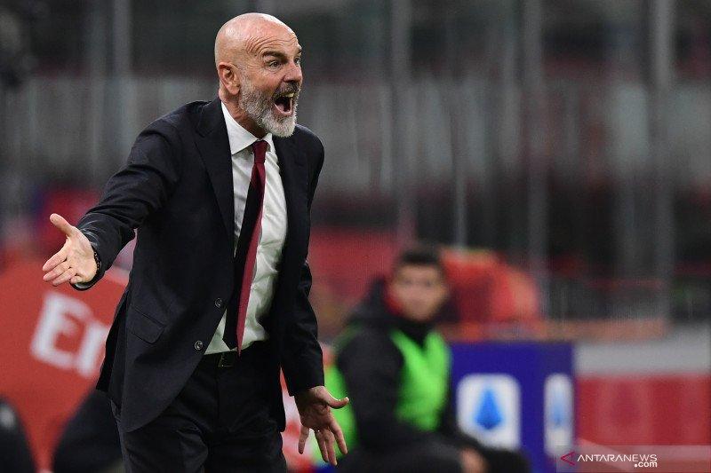 Pioli gagal raih kemenangan pada debutnya sebagai  pelatih AC Milan