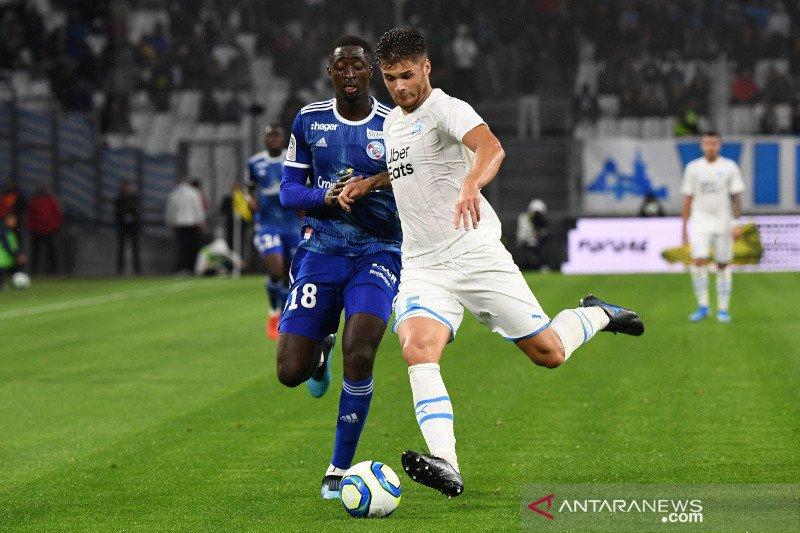 Marseille menyudahi paceklik kemenangan dengan tundukkan Strasbourg