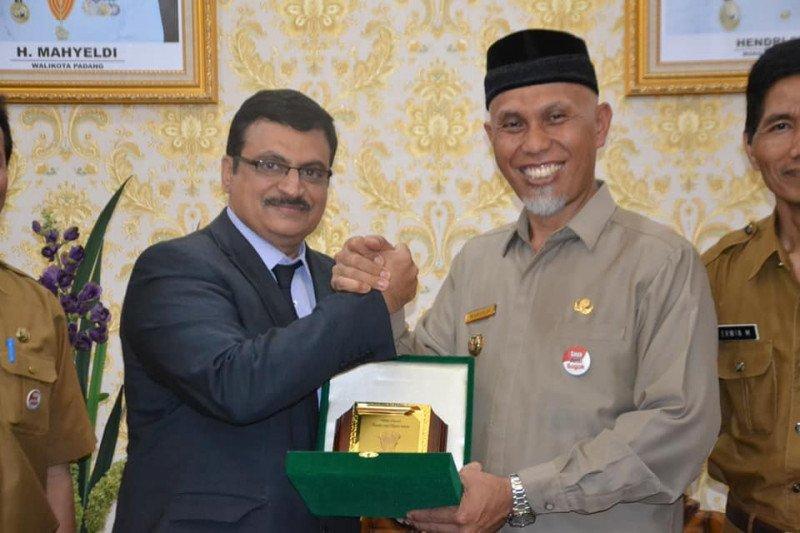 Padang-India Konkretkan Kerja Sama bidang pariwisata