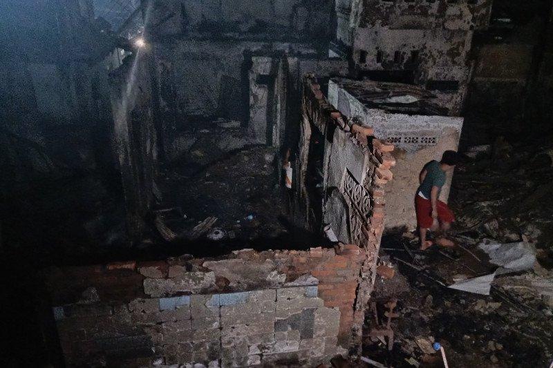 Saksi mata sebut sumber api berasal dari RT 09 Bidaracina