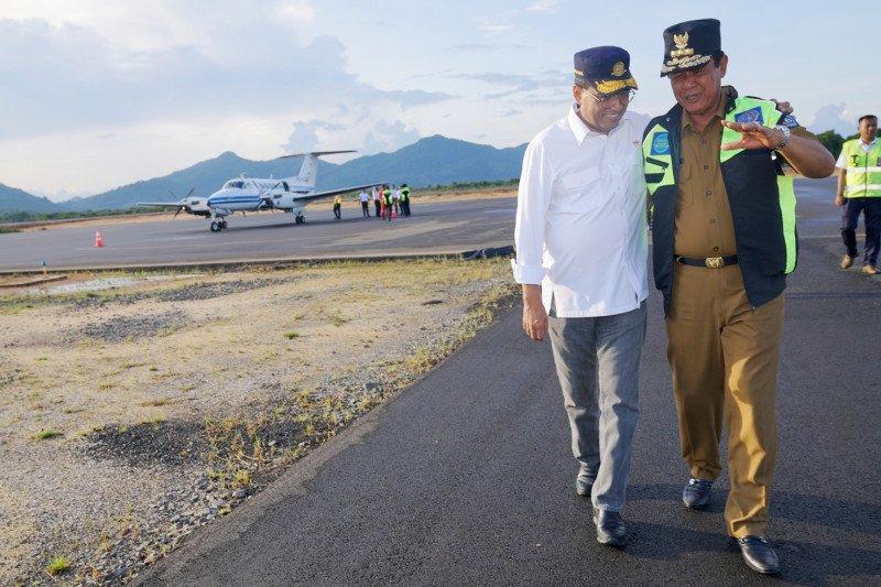 Kemenhub berencana perpanjang landasan pacu Bandara Letung