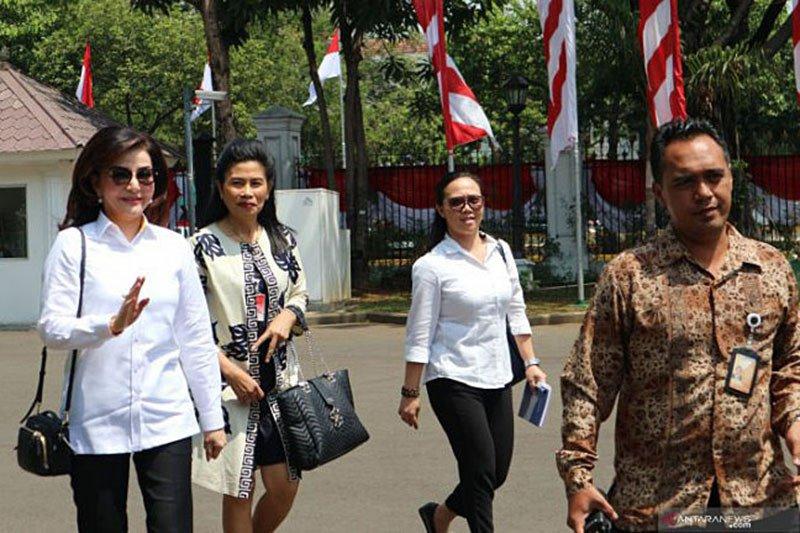 Presiden Jokowi tak temui Bupati Minahasa Selatan