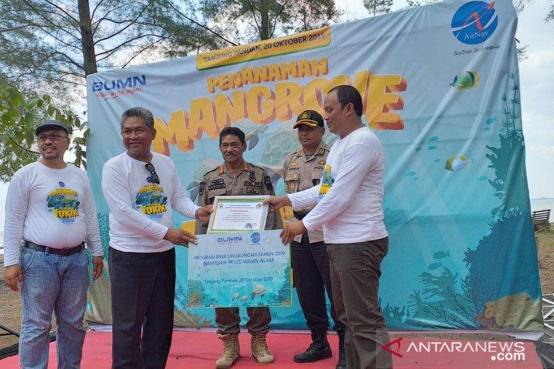 Air Nav Indonesia serahkan bantuan bina lingkungan