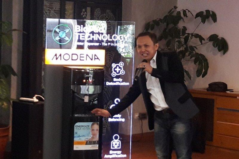Modena hadirkan water dispenser berteknologi Biopad