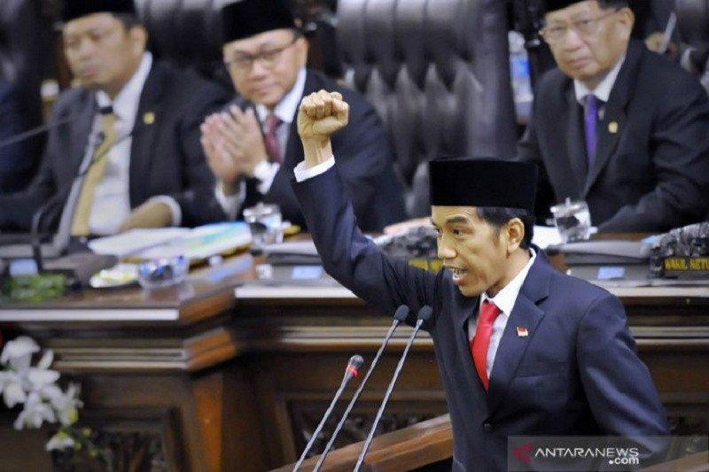 Wacana Presiden Jokowi akan sederhanakan birokrasi untuk efisiensi
