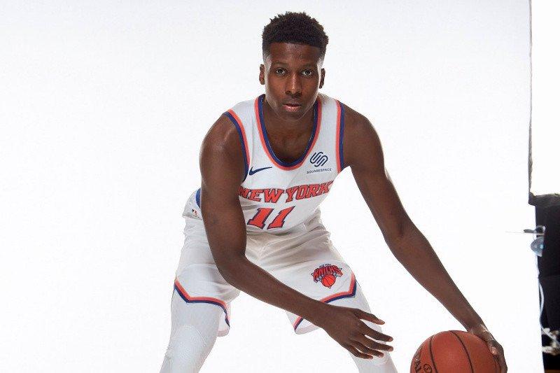 Knicks ambil  opsi perpanjangan satu tahun Frank Ntilikina