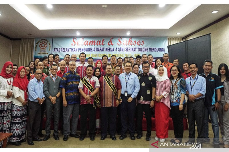 Pengurus STM Riau Kompleks resmi dilantik