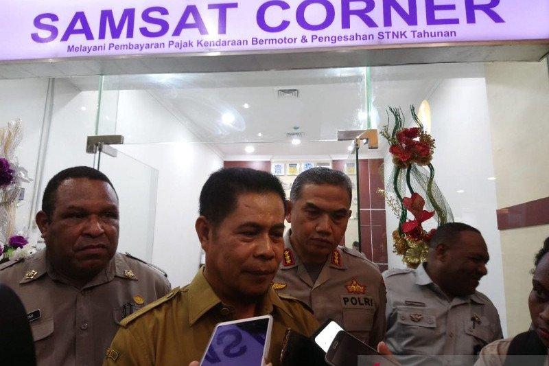 Pemprov Papua tingkatkan PAD dengan menghadirkan Samsat Corner