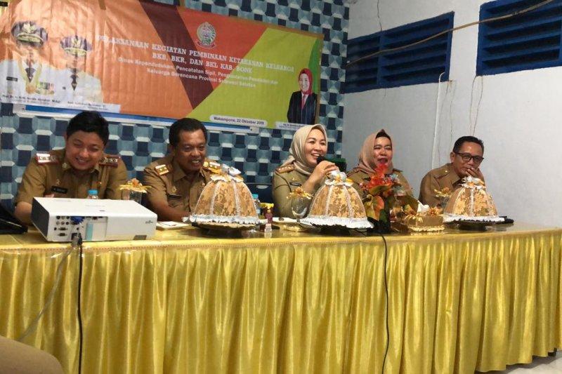 Discapildalduk dan KB Kabupaten Bone Gelar Pembinaan Ketahanan Keluarga