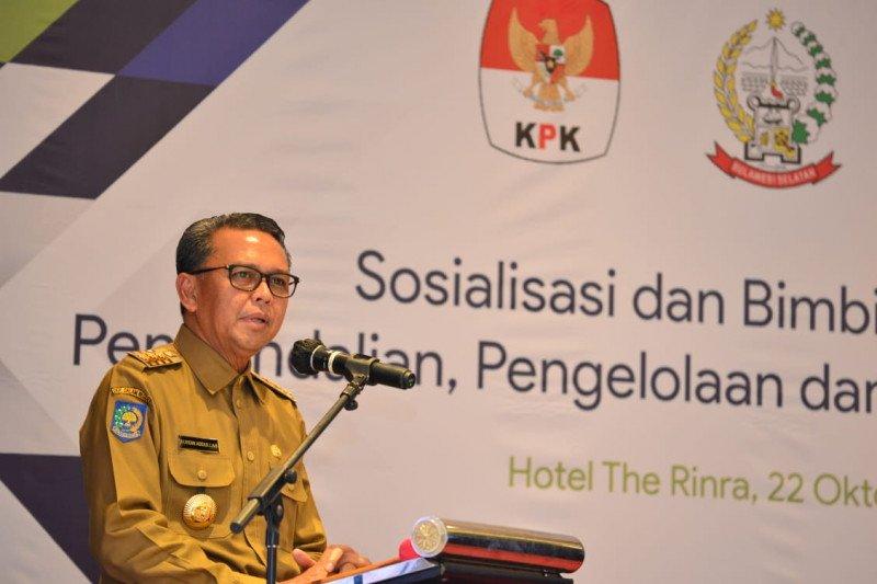 Gubernur dorong  Jadikan Sulsel sebagai contoh pengelola keuangan sehat