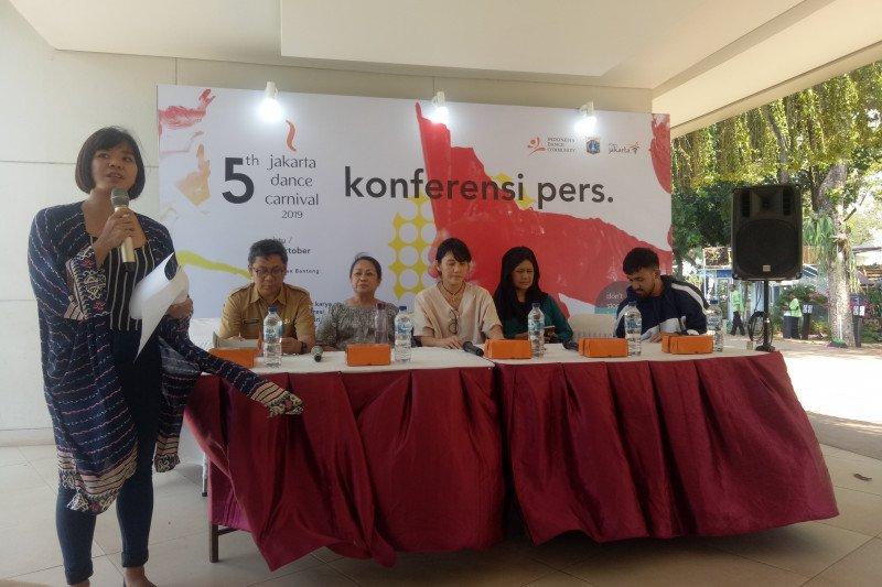 Pemprov DKI gelontorkan dana 1.7 M dukung Jakarta Dance Carnaval 2019