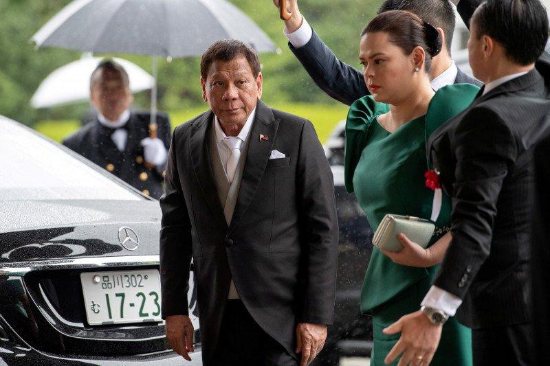 Duterte tantang wapres ambil alih penegakan hukum