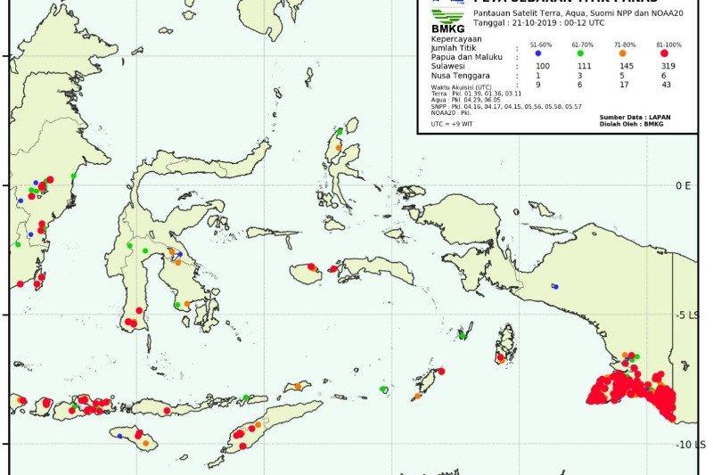 Sentani alami suhu tertinggi di Papua, sebut BMKG