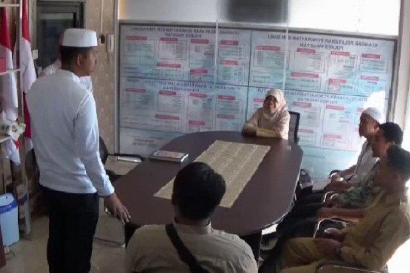 Polres Magetan berikan layanan SIM gratis bagi santri