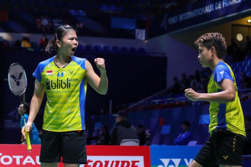 Greysia/Apriyani antisipasi Liu/Xia di babak kedua French Open