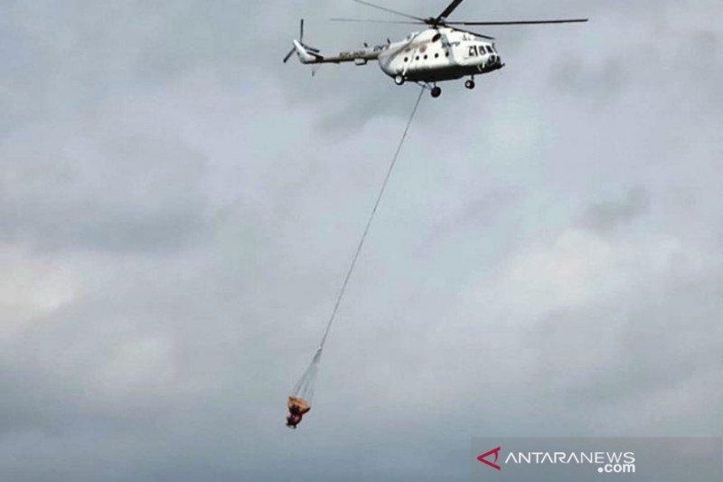 Kecepatan angin halangi pemadaman karhutla Arjuno-Welirang