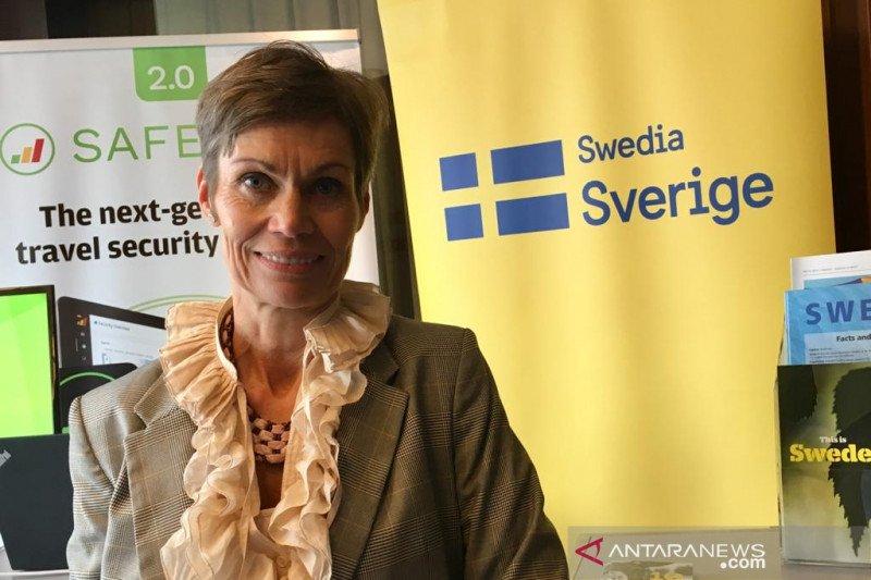 Swedia siap bantu mitigasi bencana Indonesia lewat perusahaan swasta