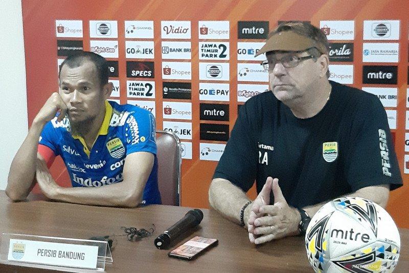 Pemain Persib tidak terganggu ketidakpastian stadion untuk lawan Persija