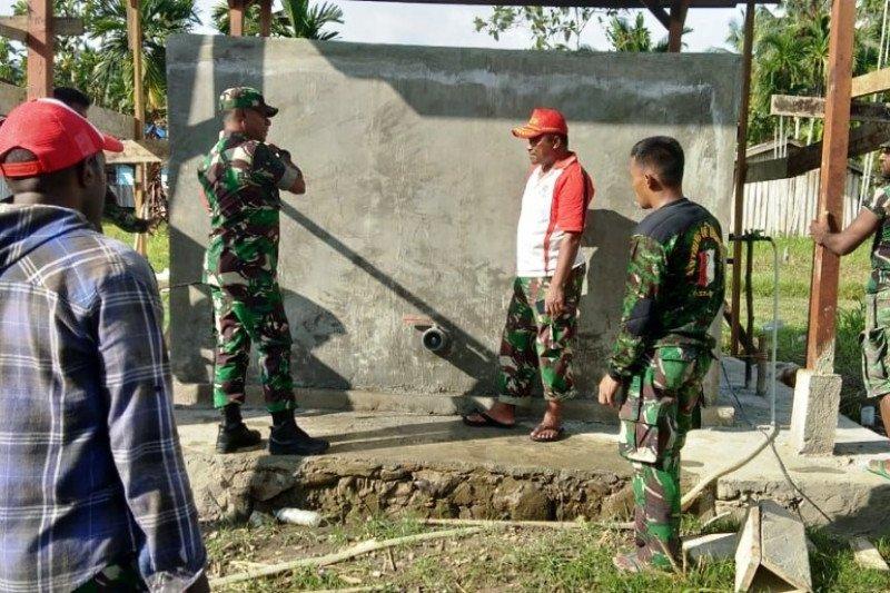 Kodim Sarmi gelar TMMD ke-106 di Namunaweja Mamberamo Raya